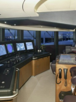 The yacht monitoring hall