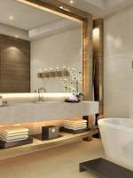 Bathroom equipped with modern amenities