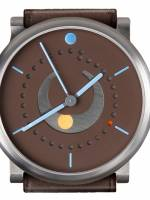 Och und Junior Moonphase Platina watch brown dial option