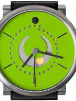 Och und Junior Moonphase Platina watch green dial option