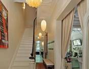 Living hall staircase
