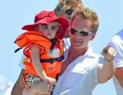Neil Patrick Harris with his son