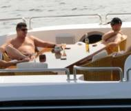James Packer and his friends