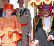 Sultan Qaboos bin Said Al Said with Queen Beatrix