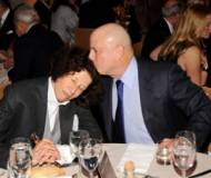 Ron Perelman with Fran Lebowitz