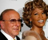 Whitney Houston with music mogul Clive Davis