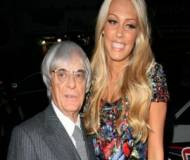 Petra Ecclestone with father Bernie