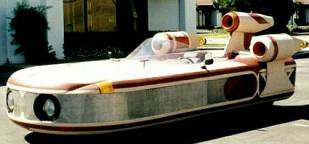 Star Wars Landspeeder Replica Up On eBay