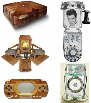 Vintage Look for Your Gadgets & Gizmos