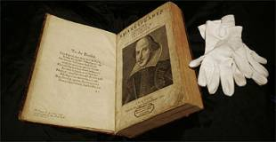 Shakespeare's Legendary First Folio Up For Auction