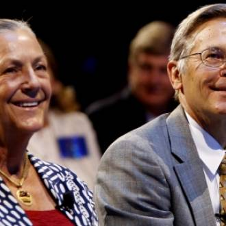 Jim Walton and  Alice walton