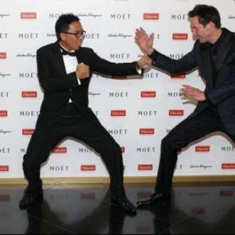 Keanu Reeves and Donnie Yen