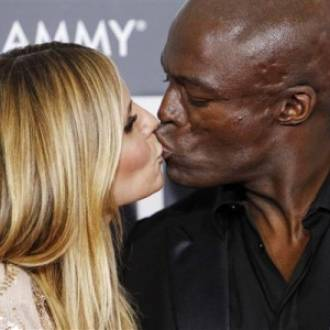 Heidi Klum and singer Seal
