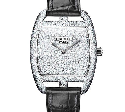 herms sertie neige watch 1