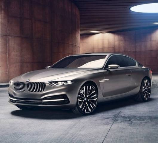 The 2013 BMW Pininfarina Gran Lusso Coupe