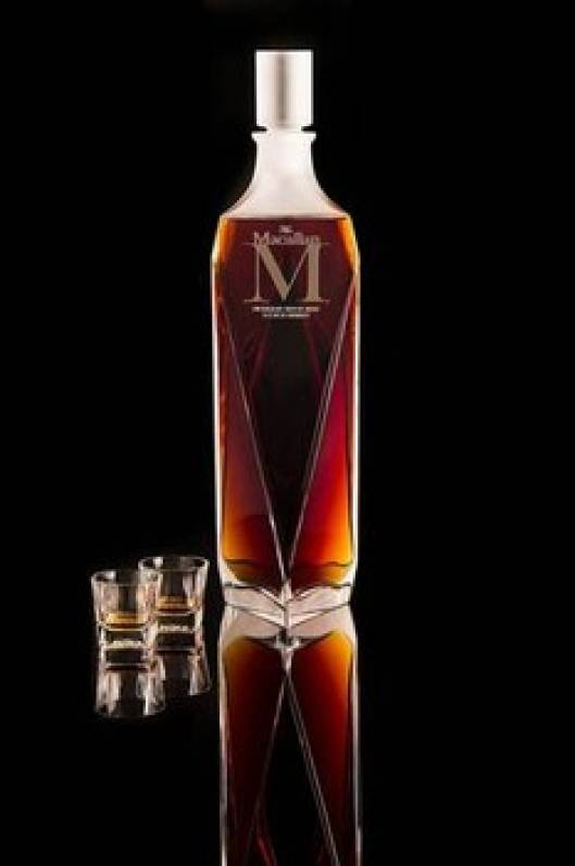 In a Crystal Decanter: Single Malt Macallan Scotch sold for $628,000