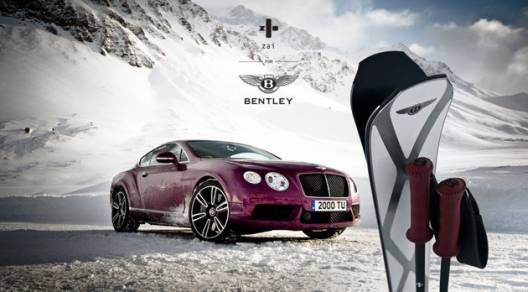 Limited Edition Skis from Zai for Bentley