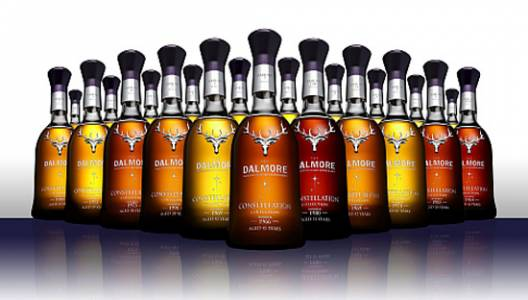 The Dalmore Constellation Collection has world's finest single malts