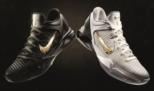 Limited eiditon Nike basketball shoes for LeBron and Kobe Bryant