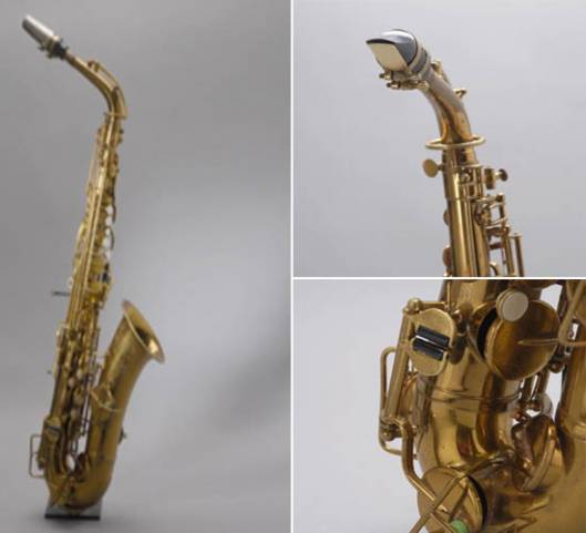Jazz Legend Charlie Parker's Saxophone for Sale