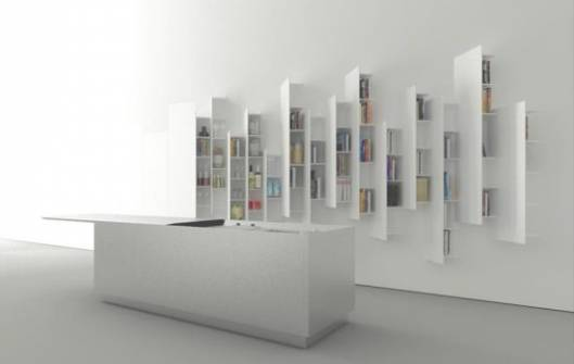 Boffi CTline shelving unit inspired by urban skyline