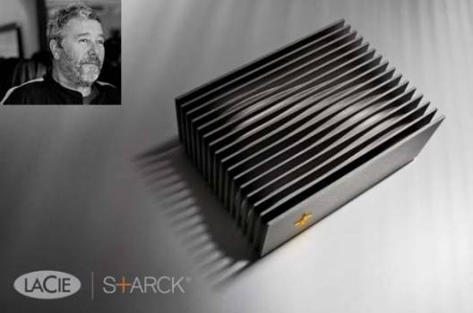 Designed for performance: LaCie Blade Runner by Philippe Starck is limited to 9,999 pieces