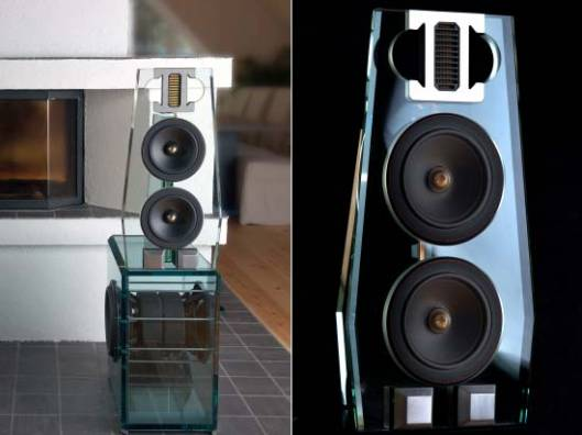 Swedish high-end audio manufacturer Perfect8 introduces 'The POINT MKII Evolution' glass loudspeaker