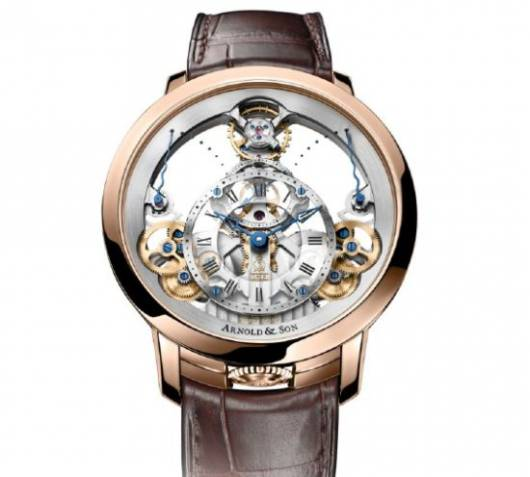 Arnold & Son's Time Pyramid defines British horological mastery