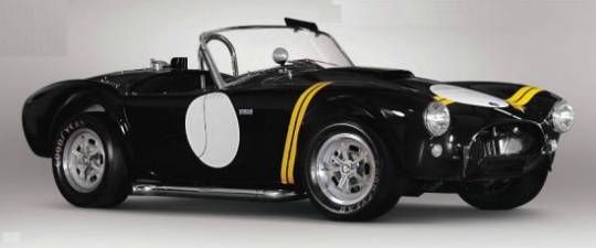 1962 Shelby 'Factory Competition-Speciffication' Cobra