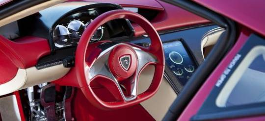 Rimac Concept One interiors