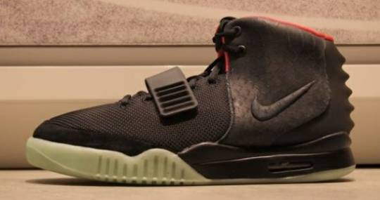 Kanye West's Limited Edition Nike sneakers