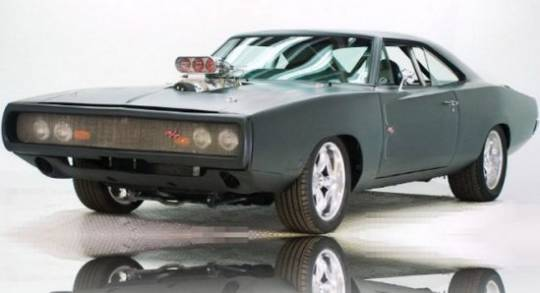 Dodge Charger RT from 2009 Fast & Furious