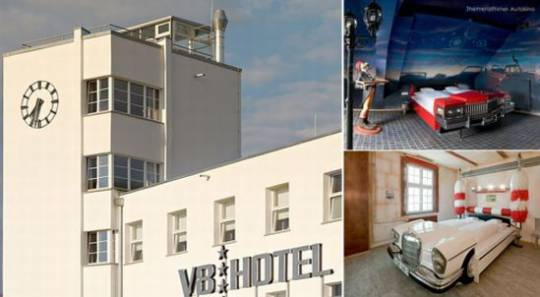 V8 Hotel, Stuggart, Germany