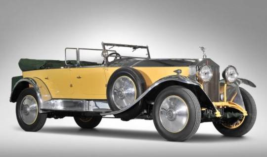 1929 Rolls-Royce Phantom I Open Tourer by Barker