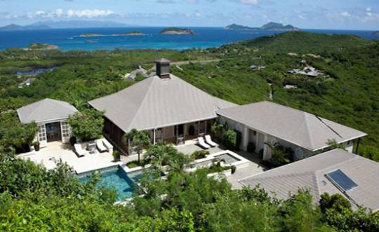 Aurora Villa on Mustique Island