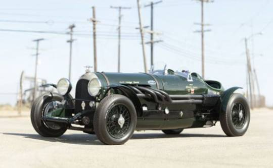 Vintage Bentley 'Hawkeye Special'