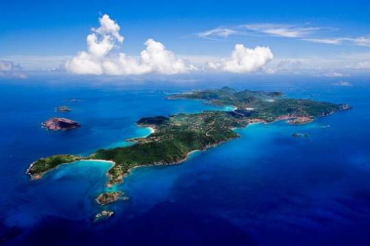 The St.Barth's Island