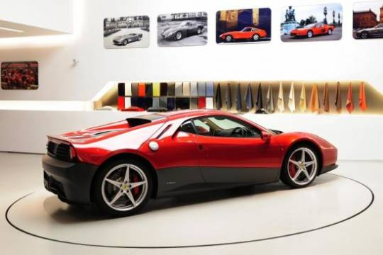 One-Off Ferrari SP12 EC for rock legend Eric Clapton