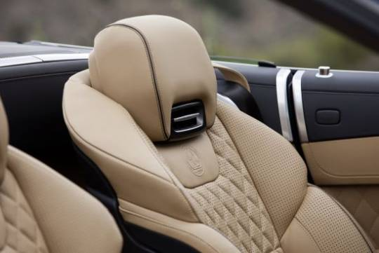 Nappa leather seats