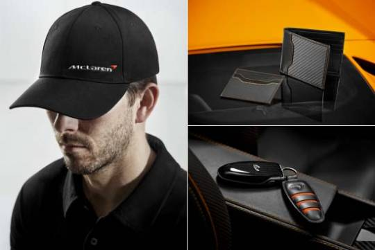 McLaren Automotive clothing and accessories
