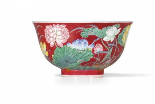 Qing Dynasty Chinese bowl