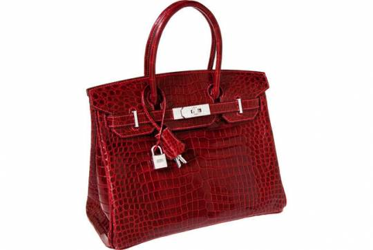 Hermès diamond birkin is the most expensive handbag sold at auction for $203,150