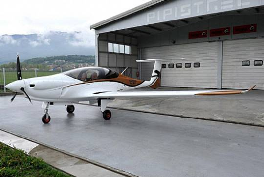 The Pipisttrel Panthera 4-seater aircraft