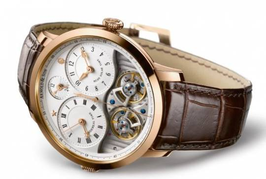 Arnold & Son DBS watch features two major complications in one watch
