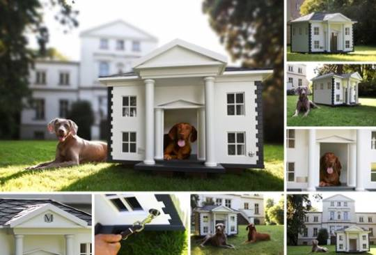 Custom-made Alabama dog house