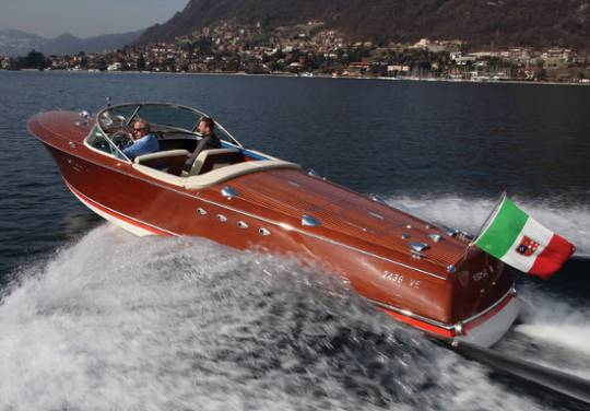 1960 Riva Tritone Special Cadillac Powerboat was built for Achielle Roncoroni