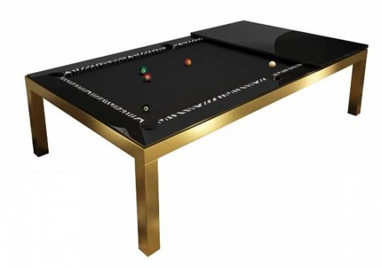 Fusion Gold Limited Edition pool table