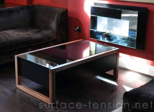 surface tension arcade table