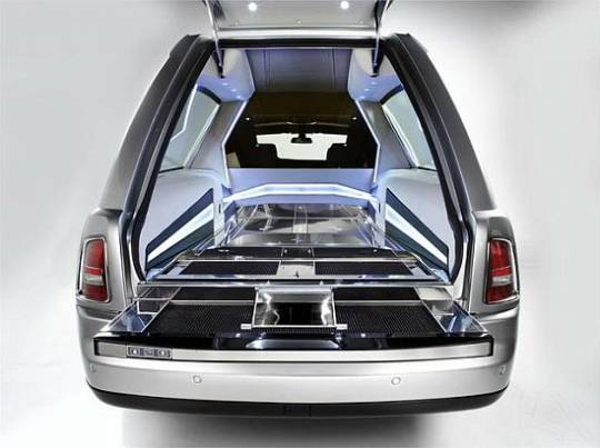 Rolls Royce Phantom Hearst B12 interior