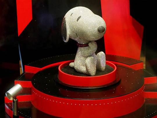 diamond snoopy